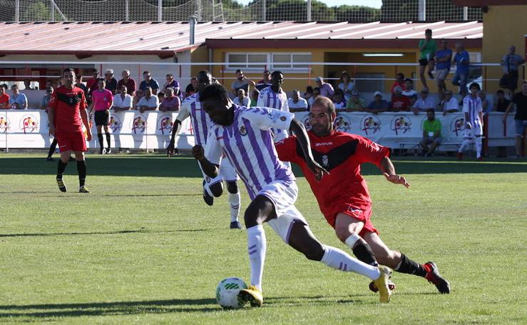 El Real Valladolid B vence al Laguna y se mete en la final del Trofeo Diputación