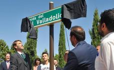 La ciudad honra a su club más relevante e inaugura la Avenida del Real Valladolid