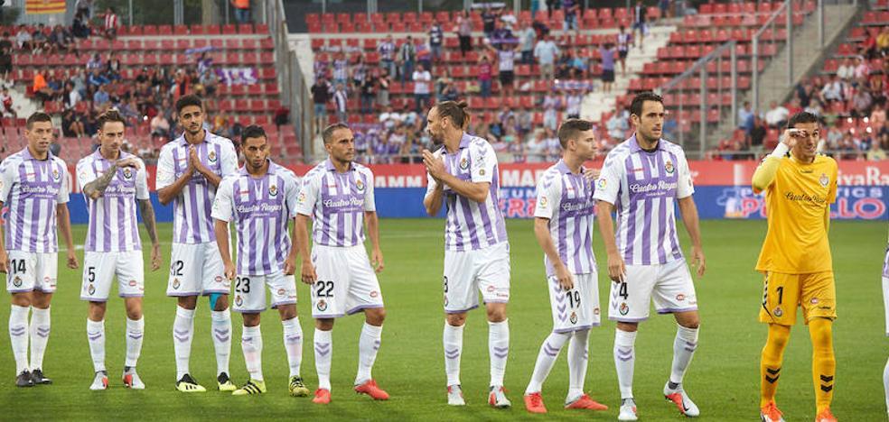 Análisis, uno a uno, de los jugadores del Real Valladolid ante el Girona