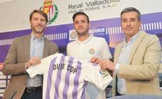 El Real Valladolid presenta a Duje Cop
