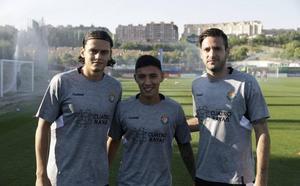 Enes Ünal, Leo Suárez y Duje Cop, el gran salto de calidad del Real Valladolid