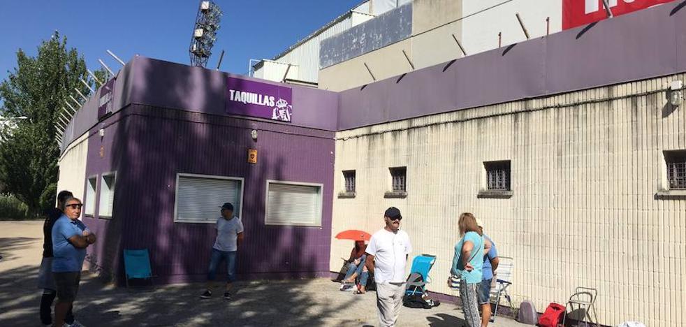 Las primeras reventas para el Real Valladolid-Barcelona