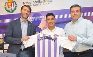Leo Suárez, un atacante con ganas de demostrar en Valladolid su calidad