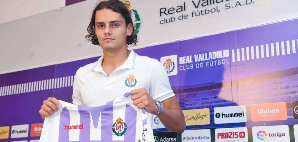 Enes Ünal promete trabajo y goles en su presentación con el Real Valladolid