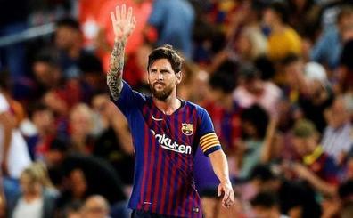 Messi vuelve a Zorrilla cuatro años y 155 goles después