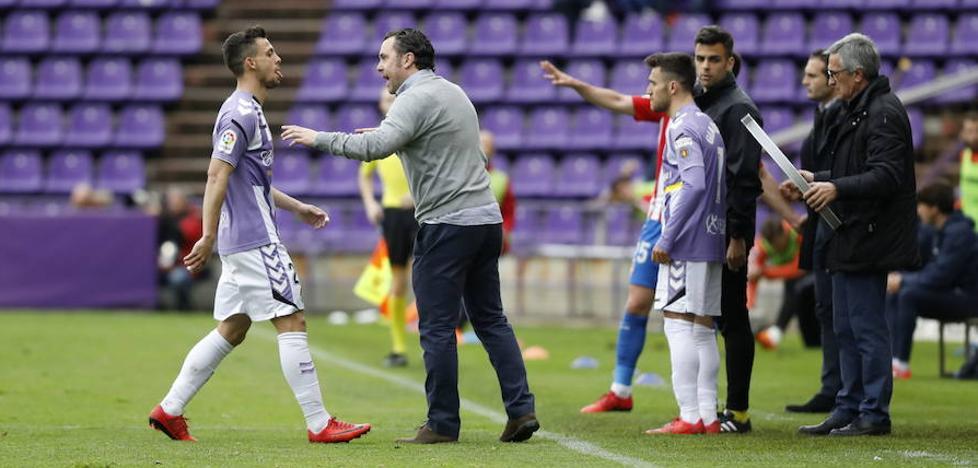 El Real Valladolid confía en renovar los contratos de Óscar Plano y Sergio