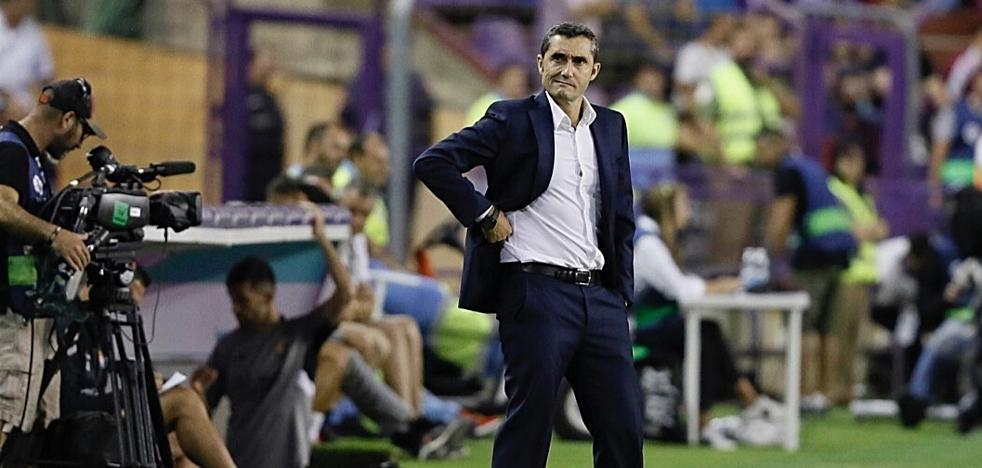 Valverde sobre el césped de Zorrilla: «Condicionó absolutamente el partido»