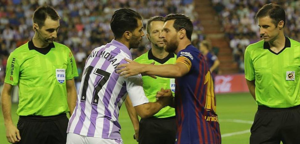 Borja y Moyano, jugadores centenarios del Real Valladolid