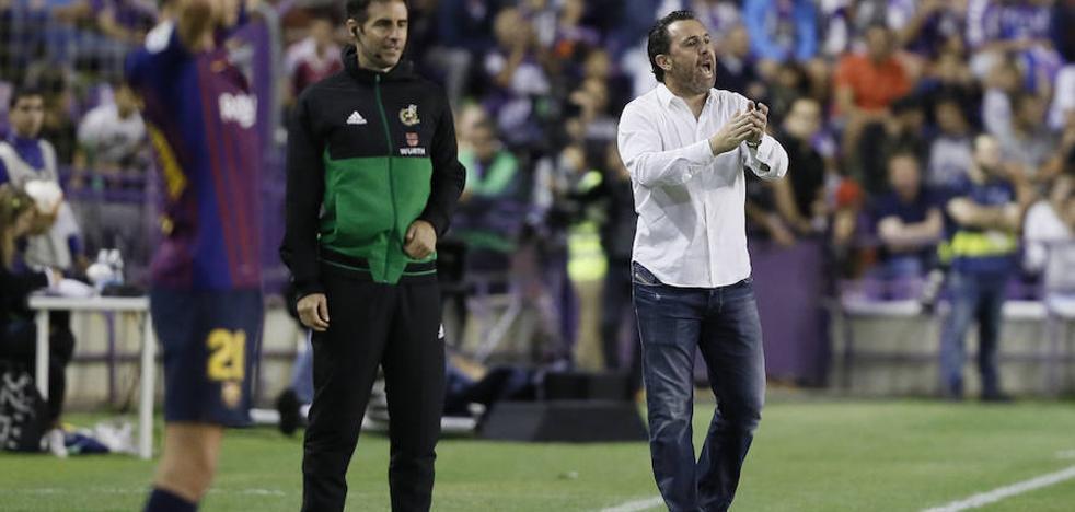 Sergio defiende al Real Valladolid en la polémica sobre el césped: «Se ha hecho todo lo posible»