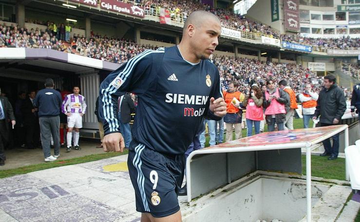 El paso de Ronaldo Nazário por el Zorrilla