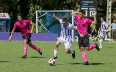 El Valladolid B crea ocasiones, pero sin puntería