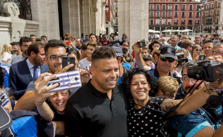 Ronaldo Nazário, nuevo propietario del Real Valladolid