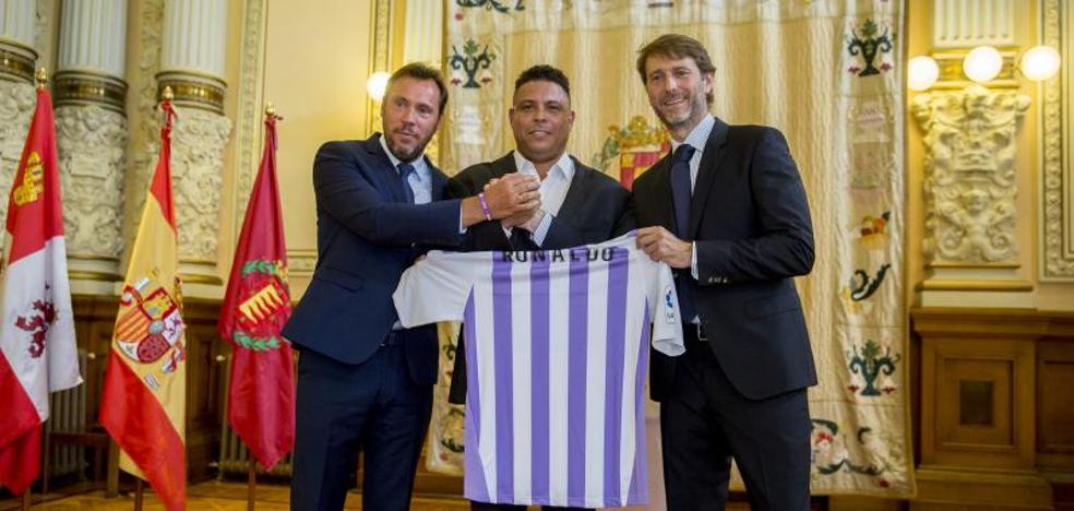 Ronaldo, nuevo propietario del Real Valladolid: «Tenéis en mí a un enamorado de este club y de esta ciudad»