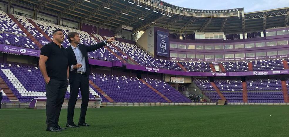 Ronaldo ha transmitido a los capitanes del Real Valladolid «tranquilidad y confianza»