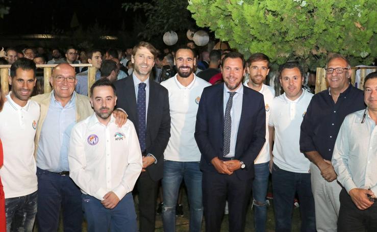 Gala de inicio de la temporada del Real Valladolid organizada por la Federación de Peñas