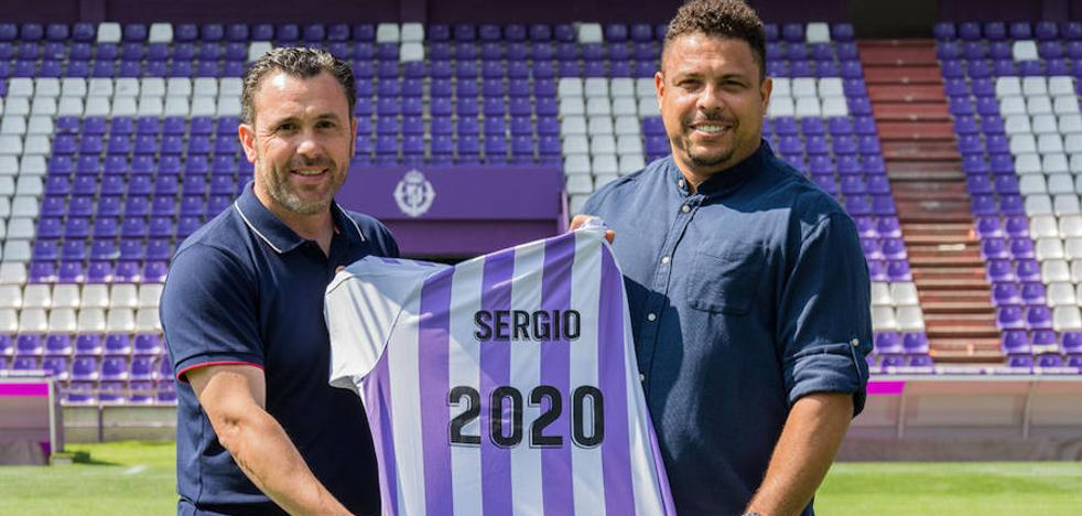 Ronaldo renueva a Sergio González como técnico del Real Valladolid hasta 2020