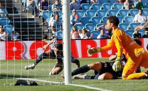 Así resolvió Sergio el rompecabezas de la incapacidad del Real Valladolid para anotar gol