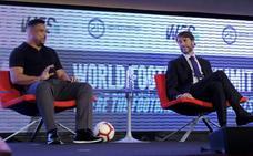 Ronaldo, en el World Football Summit: «Sé que Valladolid espera mucho de mí»