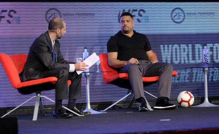 Ronaldo presenta al mundo del fútbol el proyecto del Real Valladolid