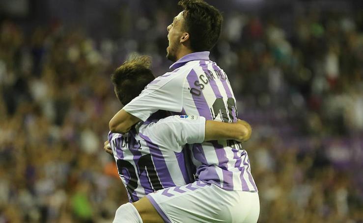 El Real Valladolid consigue su primera victoria en liga ante el Levante (2-1)