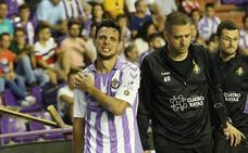 Óscar Plano se marchó entre lágrimas tras recibir un duro golpe en el hombro