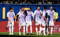 Leo Suárez da la segunda victoria consecutiva al Valladolid