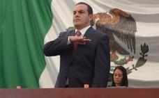 El exfutbolista blanquivioleta Cuauhtémoc Blanco, nuevo gobernador del estado mexicano de Morelos