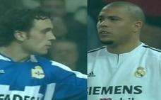 Vídeo: Así jugaban frente a frente Ronaldo Nazário y Sergio González