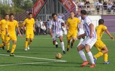 Un golazo de Socorro da la victoria al Juvenil A del Real Valladolid frente al Alcorcón