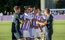 Un penalti muy riguroso condena al Real Valladolid B frente al Castilla