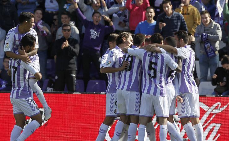 El Pucela vence en Zorrilla al Huesca (1-0)