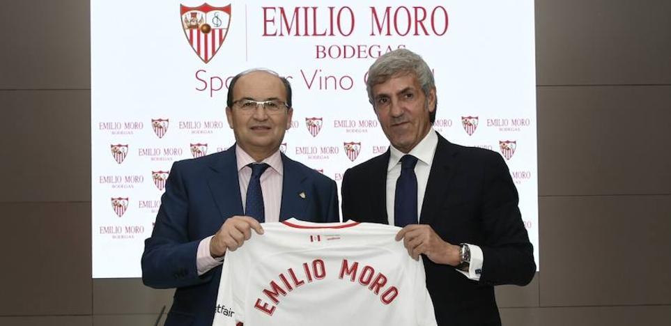 José Moro, exvicepresidente del Real Valladolid, pasa a patrocinar al Sevilla FC