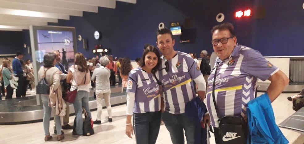 La afición Pucelana llega a Sevilla