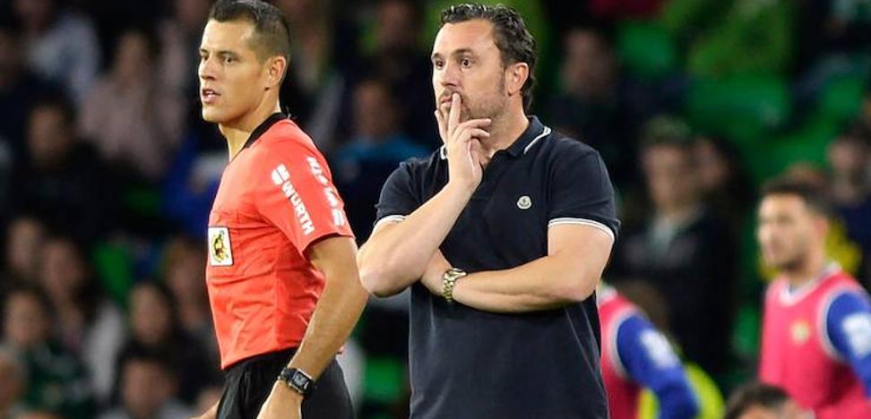 Sergio tras la victoria del Real Valladolid: «No es bueno tirar más confeti del que tenemos»