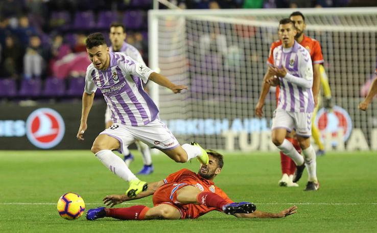 Reparto de puntos entre Real Valladolid y Espanyol (1-1)