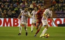 El Real Valladolid logra el empate en el tiempo de descuento