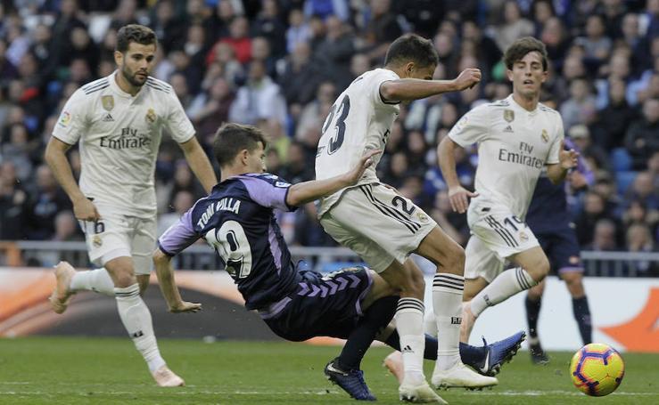 Real Madrid 2 - 0 Real Valladolid