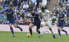 El Real Madrid sentencia el partido con un gol de penalti