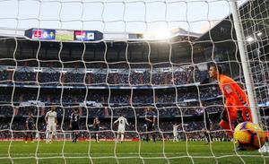 El Real Valladolid sí pasó por el Bernabéu... e incluso jugó