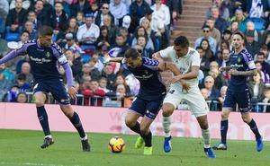 El Real Valladolid repite contra el Eibar la convocatoria para el partido del Bernabéu