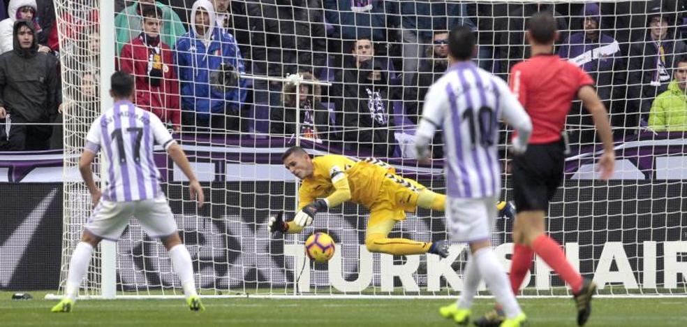 El Real Valladolid salva un punto ante un Eibar superior