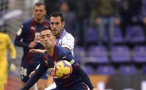 Los jugadores del Real Valladolid valoran positivamente el punto frente a un Eibar «muy serio»
