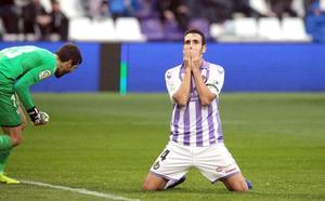 Real Valladolid y Eibar despreciaron el balón parado... Hasta que salió Verde