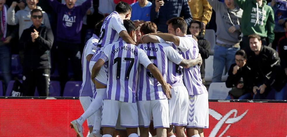 Choque de estilos en Zorrilla entre Real Valladolid y Eibar
