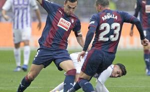 Bonito empate entre Real Valladolid y Eibar
