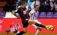 El Real Valladolid y el Eibar empatan a cero en el Zorrilla