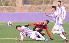 Una gran primera parte devuelve al Real Valladolid B a la senda de las victorias