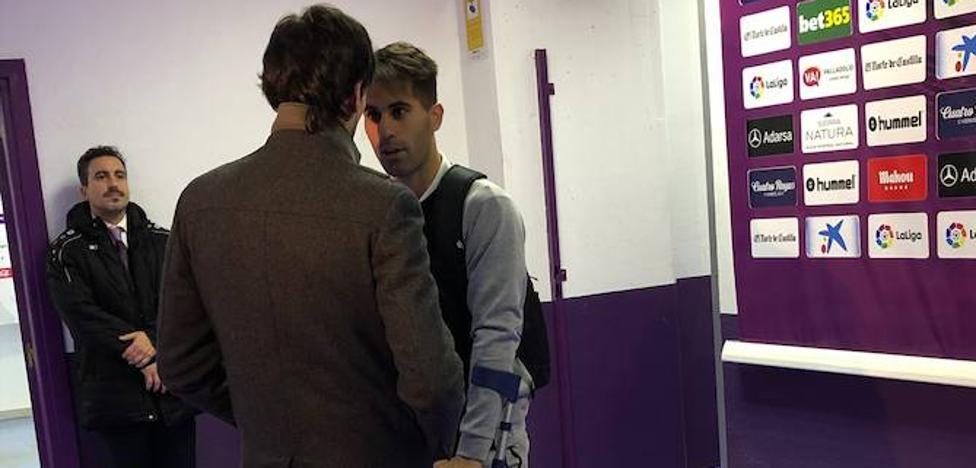 La ausencia de Moyano, principal novedad del entrenamiento del Real Valladolid