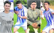 Los cuatro futbolistas que hacen funcionar al Real Valladolid B