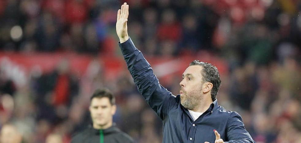 Sergio, «muy cabreado» después de que el Real Valladolid perdiera en Sevila